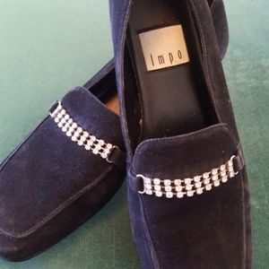 Comfortable impo black suede shoes